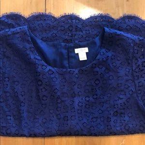 JCrew lace blouse